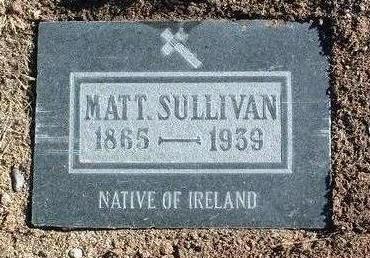 SULLIVAN, MATT - Yavapai County, Arizona | MATT SULLIVAN - Arizona Gravestone Photos