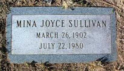 SULLIVAN, MINA JOYCE - Yavapai County, Arizona   MINA JOYCE SULLIVAN - Arizona Gravestone Photos