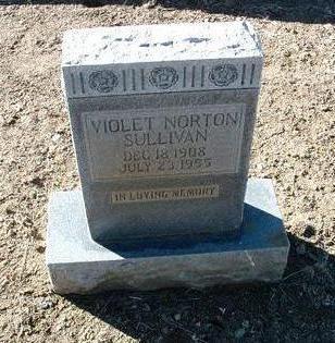 NORTON SULLIVAN, VIOLET - Yavapai County, Arizona | VIOLET NORTON SULLIVAN - Arizona Gravestone Photos