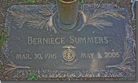 SUMMERS, BERNIECE - Yavapai County, Arizona | BERNIECE SUMMERS - Arizona Gravestone Photos