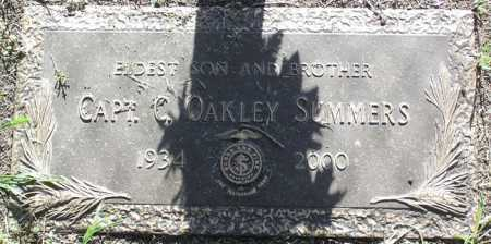 SUMMERS, CHESTER OAKLEY - Yavapai County, Arizona | CHESTER OAKLEY SUMMERS - Arizona Gravestone Photos
