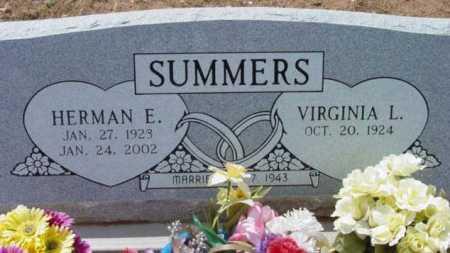 SUMMERS, HERMAN E. - Yavapai County, Arizona | HERMAN E. SUMMERS - Arizona Gravestone Photos