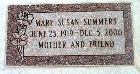 SUMMERS, MARY SUSAN - Yavapai County, Arizona   MARY SUSAN SUMMERS - Arizona Gravestone Photos