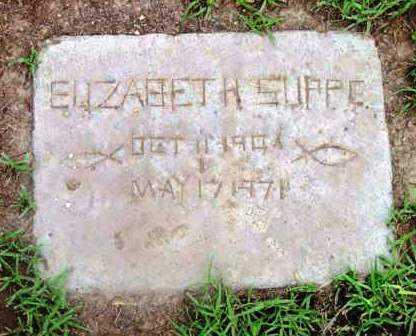 SUPPE, ELIZABETH - Yavapai County, Arizona | ELIZABETH SUPPE - Arizona Gravestone Photos
