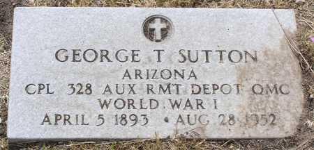 SUTTON, GEORGE THADIOUS - Yavapai County, Arizona   GEORGE THADIOUS SUTTON - Arizona Gravestone Photos