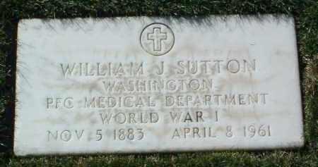 SUTTON, WILLIAM J. - Yavapai County, Arizona   WILLIAM J. SUTTON - Arizona Gravestone Photos