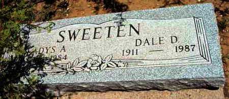 SWEETEN, GLADYS A. - Yavapai County, Arizona | GLADYS A. SWEETEN - Arizona Gravestone Photos