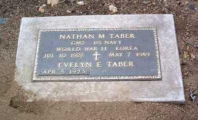 TABER, NATHAN MARSHALL - Yavapai County, Arizona   NATHAN MARSHALL TABER - Arizona Gravestone Photos