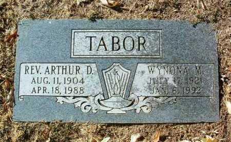 TABOR, WYNONA M. - Yavapai County, Arizona | WYNONA M. TABOR - Arizona Gravestone Photos
