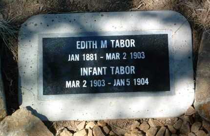 TABOR, EDITH M. - Yavapai County, Arizona | EDITH M. TABOR - Arizona Gravestone Photos