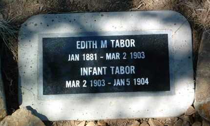 TABOR, INFANT - Yavapai County, Arizona | INFANT TABOR - Arizona Gravestone Photos