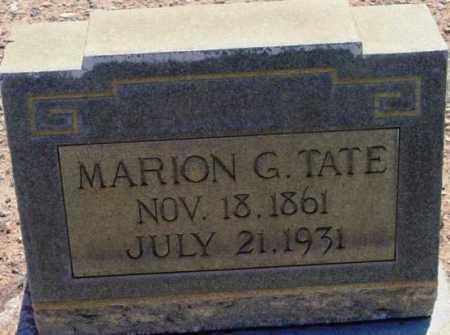 TATE, MARION GORDON - Yavapai County, Arizona | MARION GORDON TATE - Arizona Gravestone Photos