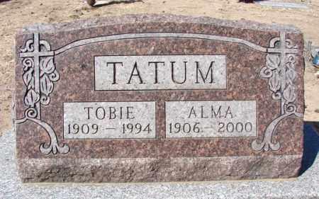 MONASMITH TATUM, ALMA - Yavapai County, Arizona | ALMA MONASMITH TATUM - Arizona Gravestone Photos