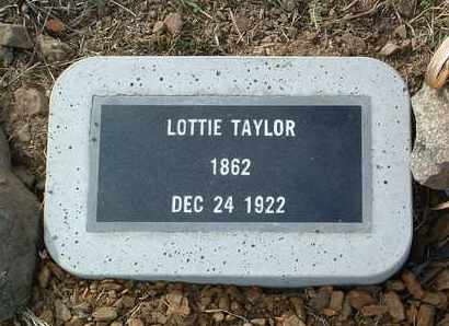 TAYLOR, LOTTIE - Yavapai County, Arizona   LOTTIE TAYLOR - Arizona Gravestone Photos