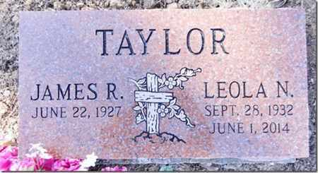 HOLLIMAN TAYLOR, LEOLA N. - Yavapai County, Arizona | LEOLA N. HOLLIMAN TAYLOR - Arizona Gravestone Photos