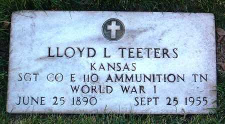 TEETERS, LLOYD LEE - Yavapai County, Arizona | LLOYD LEE TEETERS - Arizona Gravestone Photos