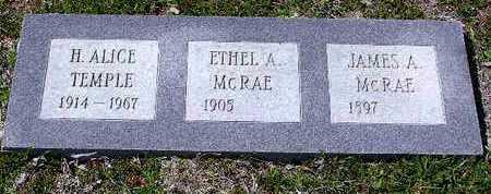 MCRAE, ETHYL A. - Yavapai County, Arizona | ETHYL A. MCRAE - Arizona Gravestone Photos