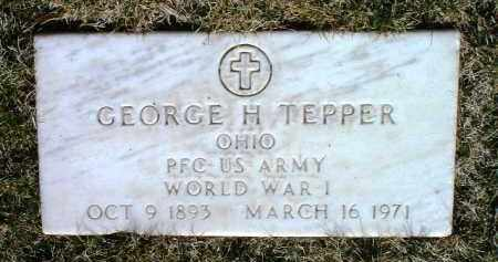 TEPPER, GEORGE H. - Yavapai County, Arizona | GEORGE H. TEPPER - Arizona Gravestone Photos