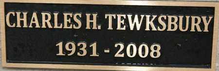 TEWKSBURY, CHARLES H. - Yavapai County, Arizona   CHARLES H. TEWKSBURY - Arizona Gravestone Photos