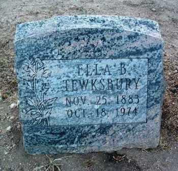 REDWINE TEWSKBURY, ELLA BEATRICE - Yavapai County, Arizona   ELLA BEATRICE REDWINE TEWSKBURY - Arizona Gravestone Photos