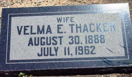 MANNING THACKER, VELMA - Yavapai County, Arizona | VELMA MANNING THACKER - Arizona Gravestone Photos