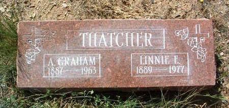 THATCHER, ALBERT GRAHAM, SR. - Yavapai County, Arizona | ALBERT GRAHAM, SR. THATCHER - Arizona Gravestone Photos