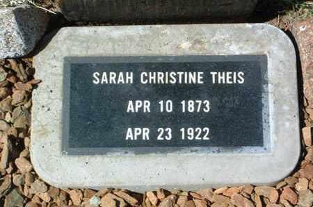 SVENSEN THEIS, SARAH C. - Yavapai County, Arizona | SARAH C. SVENSEN THEIS - Arizona Gravestone Photos