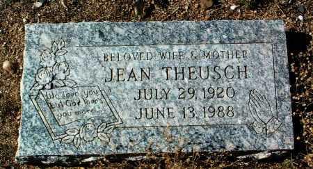 THEUSCH, JEAN - Yavapai County, Arizona | JEAN THEUSCH - Arizona Gravestone Photos