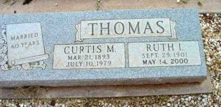 MIX THOMAS, RUTH I. - Yavapai County, Arizona | RUTH I. MIX THOMAS - Arizona Gravestone Photos