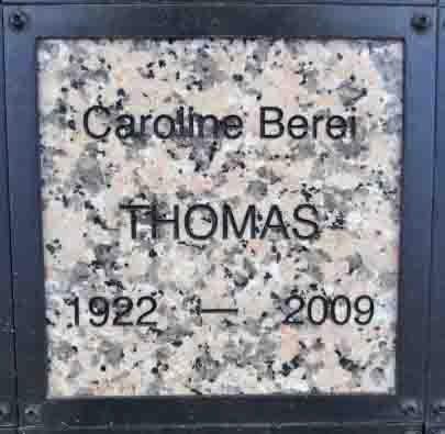 BEREI THOMAS, CAROLINE - Yavapai County, Arizona   CAROLINE BEREI THOMAS - Arizona Gravestone Photos