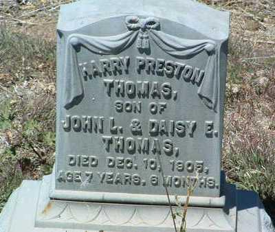 THOMAS, HARRY PRESTON - Yavapai County, Arizona | HARRY PRESTON THOMAS - Arizona Gravestone Photos