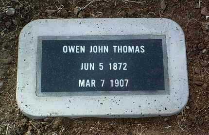 THOMAS, OWEN JOHN - Yavapai County, Arizona | OWEN JOHN THOMAS - Arizona Gravestone Photos