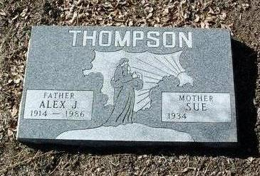 THOMPSON, ALEXANDER J. - Yavapai County, Arizona | ALEXANDER J. THOMPSON - Arizona Gravestone Photos