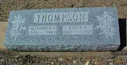 THOMPSON, ALEXANDER J. - Yavapai County, Arizona | ALEXANDER J. THOMPSON - Arizona Gravestone Photos