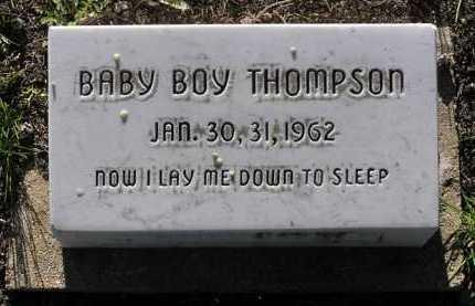 THOMPSON, BABY BOY - Yavapai County, Arizona | BABY BOY THOMPSON - Arizona Gravestone Photos