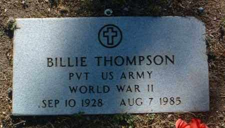 THOMPSON, BILLIE - Yavapai County, Arizona | BILLIE THOMPSON - Arizona Gravestone Photos