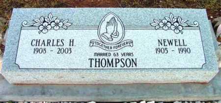THOMPSON, NEWELL B. - Yavapai County, Arizona | NEWELL B. THOMPSON - Arizona Gravestone Photos