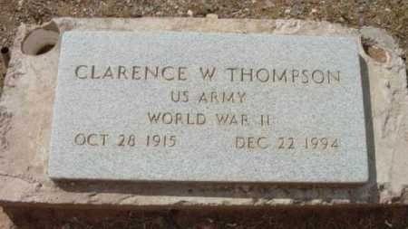 THOMPSON, CLARENCE WILLIS - Yavapai County, Arizona   CLARENCE WILLIS THOMPSON - Arizona Gravestone Photos
