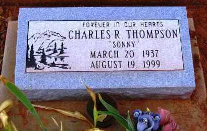 THOMPSON, CHARLES R. - Yavapai County, Arizona | CHARLES R. THOMPSON - Arizona Gravestone Photos