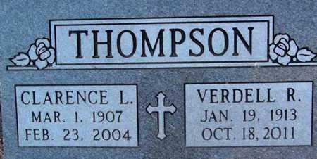 THOMPSON, CLARENCE LEROY - Yavapai County, Arizona | CLARENCE LEROY THOMPSON - Arizona Gravestone Photos