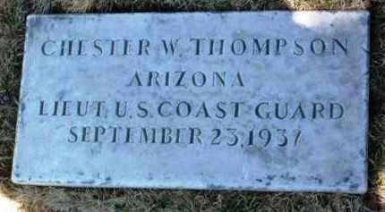 THOMPSON, CHESTER W. - Yavapai County, Arizona | CHESTER W. THOMPSON - Arizona Gravestone Photos