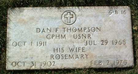 THOMPSON, ROSEMARY - Yavapai County, Arizona | ROSEMARY THOMPSON - Arizona Gravestone Photos