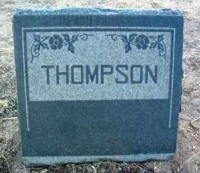 THOMPSON, HEADSTONE - Yavapai County, Arizona | HEADSTONE THOMPSON - Arizona Gravestone Photos