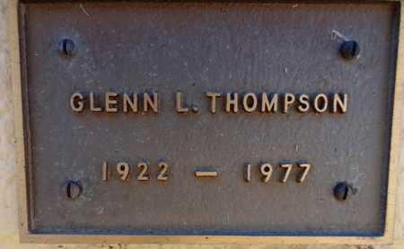 THOMPSON, GLENN LEWIS - Yavapai County, Arizona | GLENN LEWIS THOMPSON - Arizona Gravestone Photos