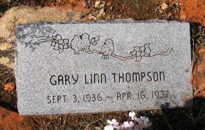 THOMPSON, GARY LINN - Yavapai County, Arizona | GARY LINN THOMPSON - Arizona Gravestone Photos