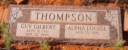 THOMPSON, ALPHA LOUISE - Yavapai County, Arizona | ALPHA LOUISE THOMPSON - Arizona Gravestone Photos