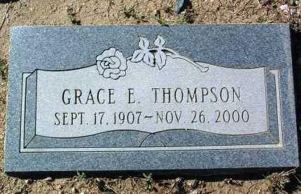 THOMPSON, GRACE E. - Yavapai County, Arizona   GRACE E. THOMPSON - Arizona Gravestone Photos