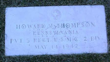 THOMPSON, HOWARD  JOHN - Yavapai County, Arizona | HOWARD  JOHN THOMPSON - Arizona Gravestone Photos