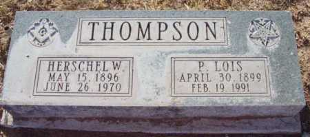 THOMPSON, P. LOIS - Yavapai County, Arizona | P. LOIS THOMPSON - Arizona Gravestone Photos
