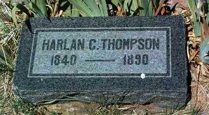 THOMPSON, HARLAN CONNOR - Yavapai County, Arizona   HARLAN CONNOR THOMPSON - Arizona Gravestone Photos